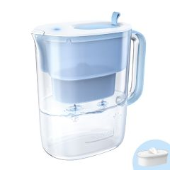 Waterdrop Water Filter Pitcher, Long-Life 10-Cup, Reduces Lead, Fluoride, Chlorine, BPA Free WD-PT-61B