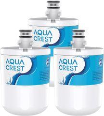 AQUACREST Refrigerator Water Filter, Replacement for LG LT500P, GEN11042FR-08, ADQ72910911, ADQ72910901, ADQ72910907, Kenmore 9890, 46-9890, LFX25974ST, LMX25964ST, LSC27925ST