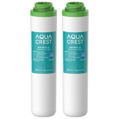 AQUACREST FQK2J Dual Flow Drinking Water Filter Replacement for GE FQK2J Filters