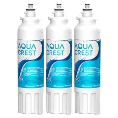 AQUACREST  Refrigerator Water Filter , Replacement for LG LT800P, ADQ73613402, ADQ73613408, ADQ75795104, Kenmore 9490, 46-9490, LSXS26326S, LMXC23746S, LMXC23746D
