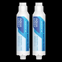 AQUACREST  Car Washing Inline Water Filter, Reduce Hard Water Spots, Soften Water, Upgraded Formula