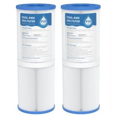 AQUACREST  Replacement for Pool Spa Filter Pleatco PRB50-IN, Unicel C-4950, Guardian 413-212-02, Filbur FC-2390, 03FIL1600, 17-2380, Jacuzzi J200 Series Filter, 373045, 50 sq. ft, Pack of 2
