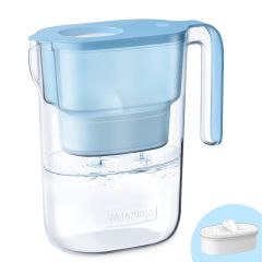 Waterdrop Elfin Water Pitcher with Filter for Home, Long-Life, Reduce Lead, Fluoride, Chlorine, BPA Free WD-PT-05