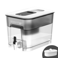 Waterdrop Water Filter Dispenser with 1 Filter, 20-Cup WD-WFD-22L