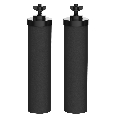 AQUACREST BB9-2 Water Filter Replacement, Compatible with BB9-2 Black Purification Elements and Gravity Filter System AQU-BB9-2