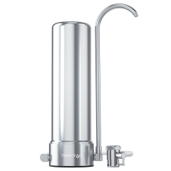 Waterdrop Faucet Water Filter System, 5-Stage Stainless Steel Countertop Filter WD-CTF-01