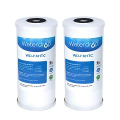Waterdrop Whole House Water Filter Replacement for GE FXHTC, Culligan RFC-BBSA, W50PEHD, GXWH40L