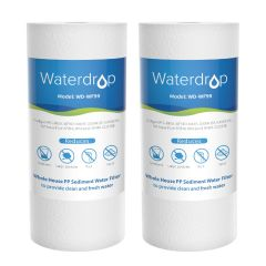 """Waterdrop 5 Micron 10"""" x 4.5"""" Whole House PP Sediment Water Filter, Replacement for Culligan RFC-BBSA, WFHD13001B, GXWH35F, GXWH30C, 3M Aqua-Pure AP814"""
