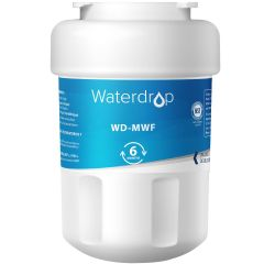 Waterdrop Replacement for GE Refrigerator Water Filter MWF, MWFP, MWFAP, GWF