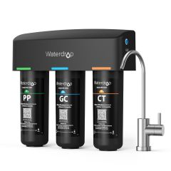 Waterdrop 3-Stage with Dedicated Faucet UnderSink Water Filter WD-TSB